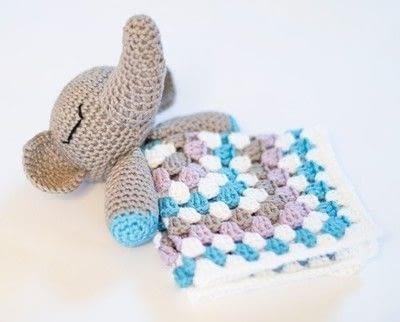 How to make an elephant plushie. Elephant Snuggle - Step 6