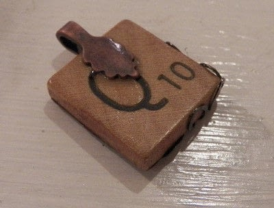 How to make a scrabble necklace. Scrabble Tile Necklace - Step 5