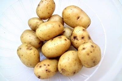 How to cook a potato salad. Swedish Potato Salad - Step 1
