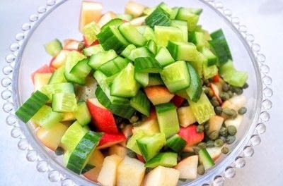 How to cook a potato salad. Swedish Potato Salad - Step 3
