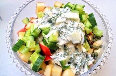 How to cook a potato salad. Swedish Potato Salad - Step 5