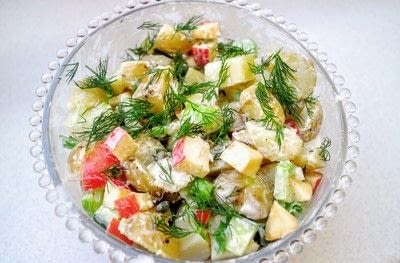 How to cook a potato salad. Swedish Potato Salad - Step 7