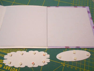 How to make a greetings card. Butterfly Hanging Easel Card - Step 4