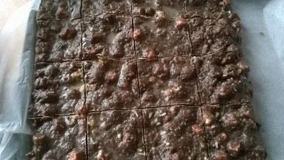 How to bake a rocky road bar. Rocky Road Squares - Step 7