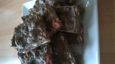 How to bake a rocky road bar. Rocky Road Squares - Step 8