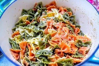 How to cook a pasta salad. Smorgasbord Pasta Salad - Step 1