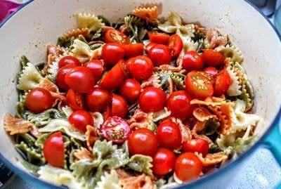 How to cook a pasta salad. Smorgasbord Pasta Salad - Step 2