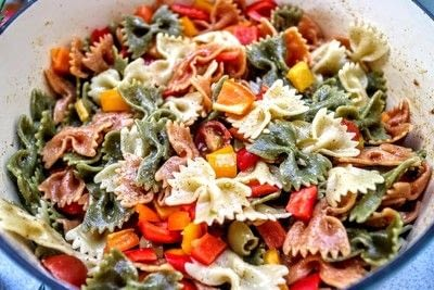 How to cook a pasta salad. Smorgasbord Pasta Salad - Step 3
