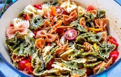 How to cook a pasta salad. Smorgasbord Pasta Salad - Step 4