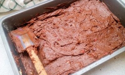 How to bake a brownie. Mexican Chocolate Brownies - Step 6
