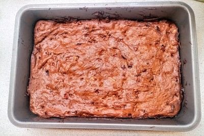 How to bake a brownie. Mexican Chocolate Brownies - Step 7