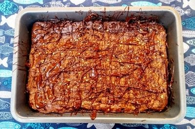 How to bake a brownie. Mexican Chocolate Brownies - Step 10