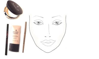How to create a natural eye makeup. Drew Barrymore Makeover - Step 4