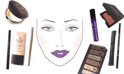How to create a natural eye makeup. Drew Barrymore Makeover - Step 9