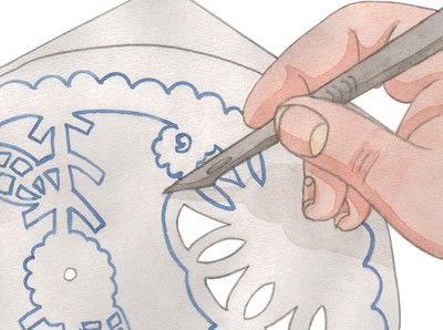 How to make a clock. Cutaway Clock - Step 3