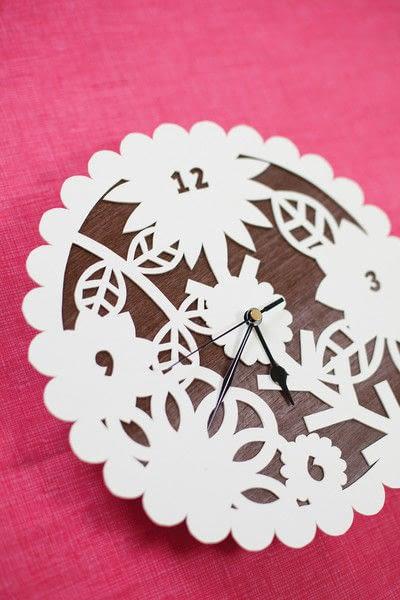 How to make a clock. Cutaway Clock - Step 5