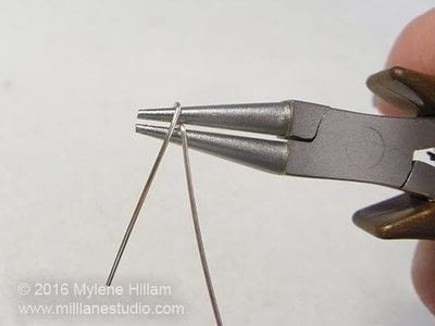 How to make a wire bracelet. Tweetheart Bracelet - Step 8
