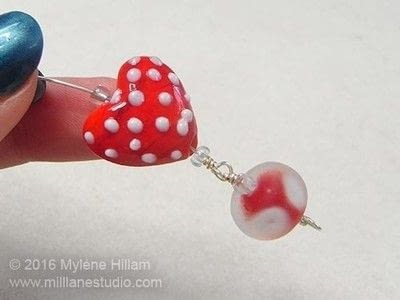 How to make a wire bracelet. Tweetheart Bracelet - Step 11