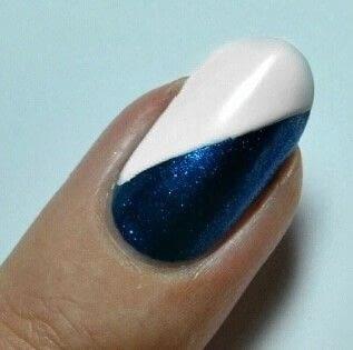 How to paint an animal print nail. Zebra Nail Art  - Step 2