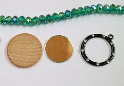 How to make a pendant necklace. You Love Us Necklace - Step 1