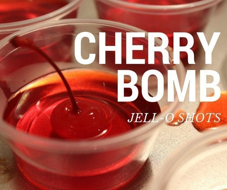 Cherry Bomb Jell-O Shots · How To Make A Shot · Recipes On
