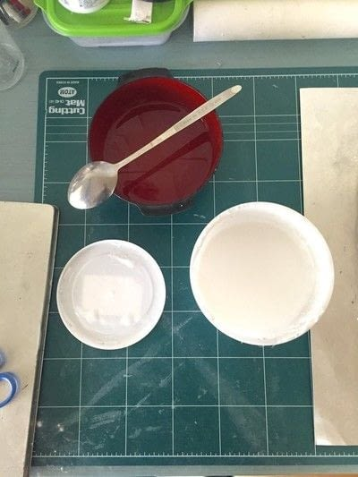 How to make a papier mache model. Blank kitsune Mask Tutorial - Step 3