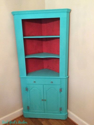 How to make a cupboard / closet. China Hutch Makeover - Step 3