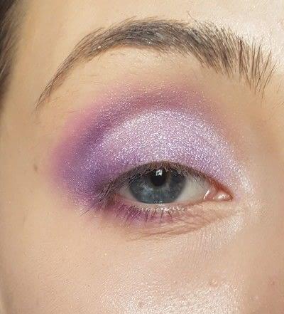 How to create a purple eye makeup look. How To: Liliac Eye Makeup - Step 2