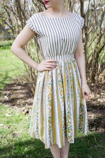How to sew a gathered dress. Sun Dress Tutorial - Step 21