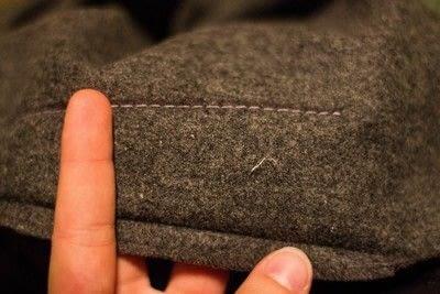 How to make a high-waisted skirt.  40's Agent Carter Inspired Skirt - Step 1
