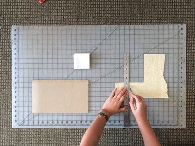 How to make a notebook journal. How To Make A Recycled Paper Pad With Shelf Life Art & Supply Co.! - Step 6