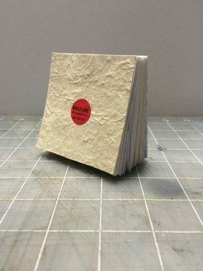 How to make a notebook journal. How To Make A Recycled Paper Pad With Shelf Life Art & Supply Co.! - Step 14