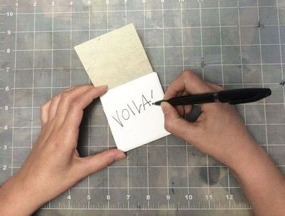 How to make a notebook journal. How To Make A Recycled Paper Pad With Shelf Life Art & Supply Co.! - Step 15