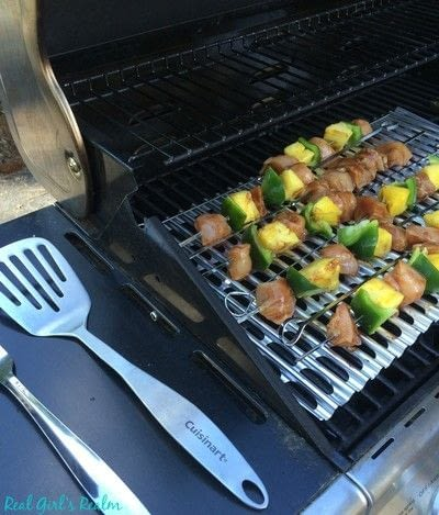 How to cook a kebab. Sweet And Spicy Chicken Kabobs - Step 3