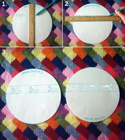 How to make a novetly bag. Novelty Purse  - Step 4
