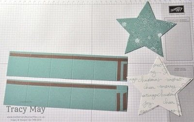 How to make a shaped box. Star Shaped Gift Box - Step 2