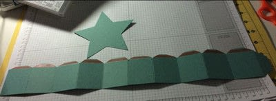 How to make a shaped box. Star Shaped Gift Box - Step 3