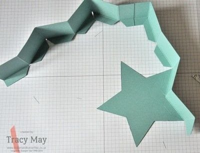 How to make a shaped box. Star Shaped Gift Box - Step 5