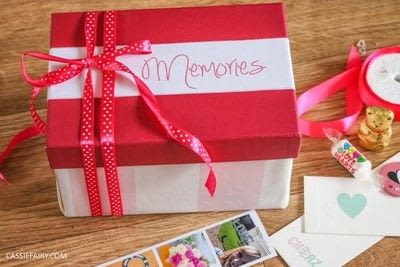 How to make a box. Handmade Gift:  A Box Of Memories - Step 9