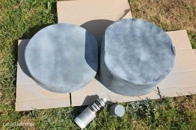 How to make a pet bed. Hat Box Cat Bed  - Step 2