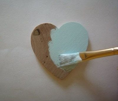 How to make a wooden brooch. Dècoupage Brooches - Step 1