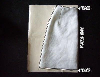 How to make a wrap skirt. Easy Breezy Wrap Skirt - Step 1