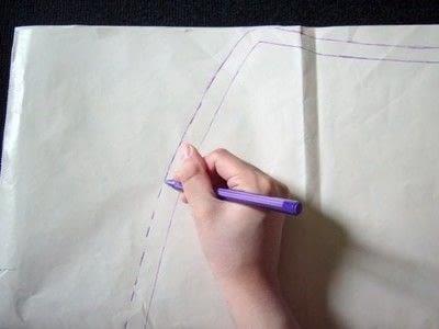 How to make a wrap skirt. Easy Breezy Wrap Skirt - Step 3