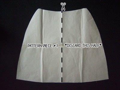 How to make a wrap skirt. Easy Breezy Wrap Skirt - Step 6