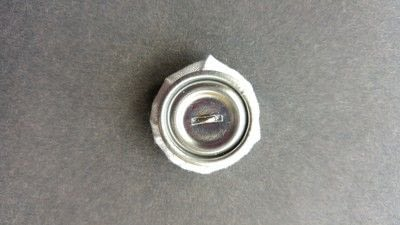 How to make a buttons. Beautiful Beaded Buttons - Step 4