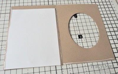 How to make a greetings card. Magic Slider Card -  Fairy Celebration - Step 4