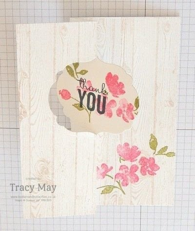 How to make a greetings card. Flip Card Using A Label Die - Step 5