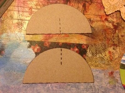 How to make a toy. Durable Paper Doll Play Set - Step 6