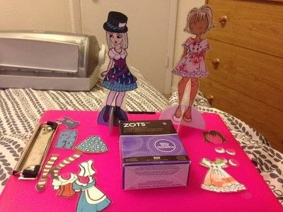 How to make a toy. Durable Paper Doll Play Set - Step 19