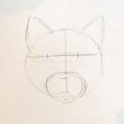How to draw a pastel drawing. Pastel Cat - Step 5